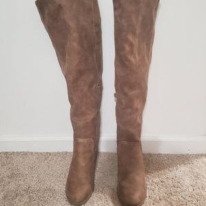 Fergalicious knee high boots